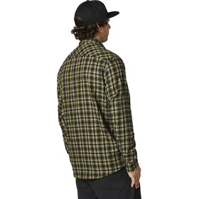 Fox Reeves Woven LS Shirt Men, olive green